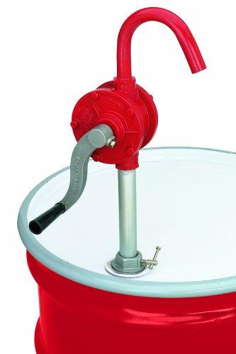 Lumax LX-1320 Red Deluxe Heavy Duty Rotary Barrel Pump
