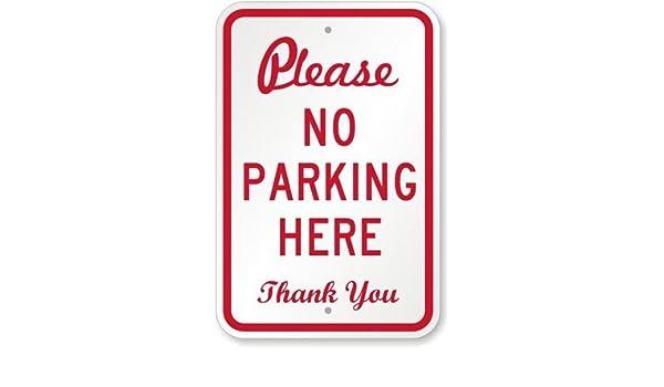 PotteLove por Favor no aparcar aquí. Cartel de ...
