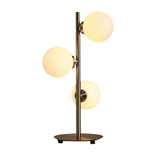 Lámparas de mesa de metal LED, lámpara de lectura mesita de ...