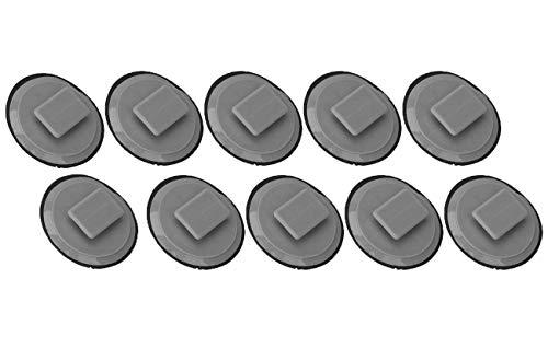 (Bapmic BP4L-51-SJ3 Rocker Molding Clip With Sealer for Mazda 3 5 6 CX-3 CX-5 CX-9 MX-5 Miata (Pack of 10))