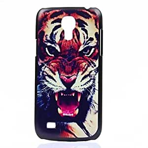 HJZ Roaring Tiger Pattern PC Hard Back Cover Case for Samsung Galaxy S4 Mini I9190