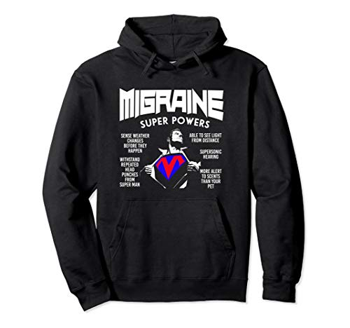 Headache Pain Hoodies - Migraine Awareness Humor ()