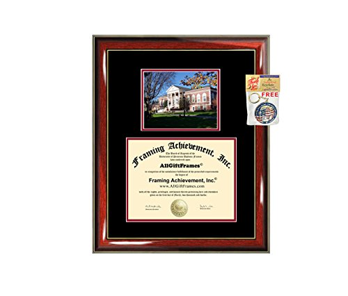 Radford University Diploma Frame Graduation Degree Double Radford College Campus Graduation Gift Certificate Plaque Bachelor Master PhD Doctorate School Framing - Frame Diploma University Radford