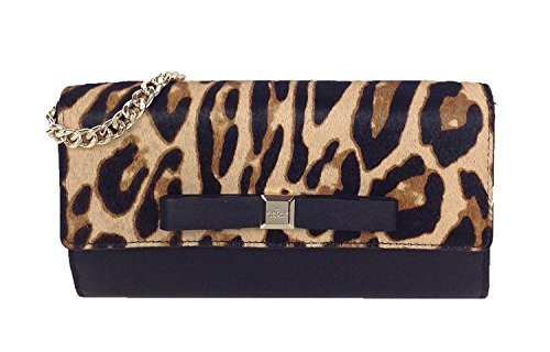Kate Street Clutch Spade Ocelot Black Natural Milou Rivas 6fB6wExqr