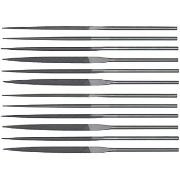 Teborg Swiss Pattern Needle Files Set of 12 Medium Cut