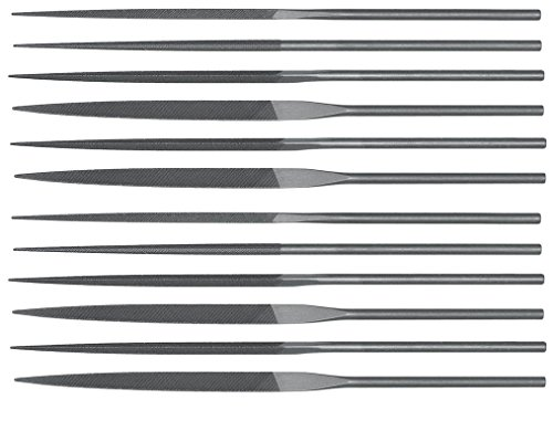 Teborg Swiss Pattern Needle Files Assorted Set of 12 Fine
