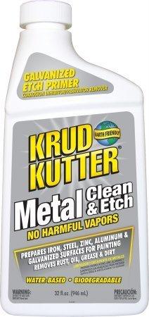 Krud Kutter ME32-6 32 Oz Metal Clean Etch - Pack of 6