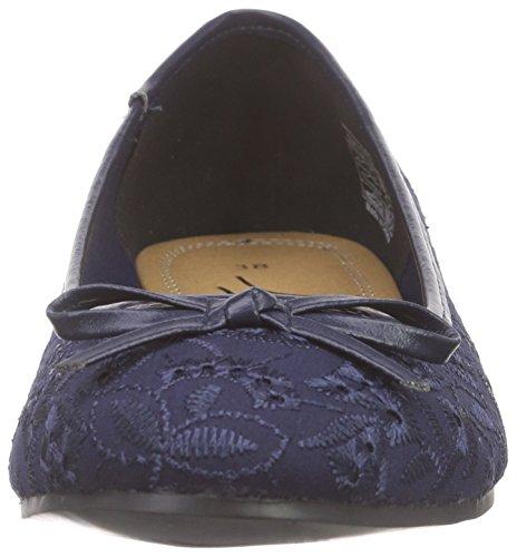 Jane Klain221 807 - Ballerine chiuse Donna, Blu (Blau (Navy 839)), 37