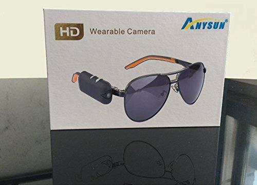 720P Waterproof Sunglasses Camera - 2