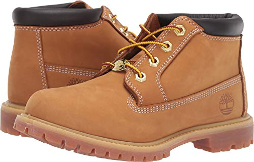 Timberland Women's Nellie Chukka Wheat Nubuck 6 B US
