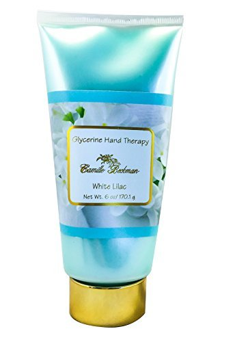 (Camille Beckman Glycerin Hand Therapy, White Lilac, 6 Ounce by Camille Beckman)