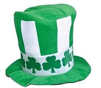 Irish Velvet Shamrock Top Hat -St Patrick Day