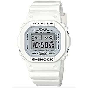 41QDiRl9BQL. SS300  - Casio G-Shock 5600, White, onesize M US