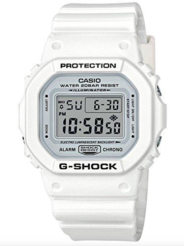 Casio G-Shock DW5600MW-7 Marine White Unisex Watch