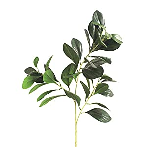 32gagwwc 1Pc Artificial Eucalyptus Leaf Foliage Plant Wedding Party Home Furniture Decor Fake Greenery Foliage Plants for Home Decor 40