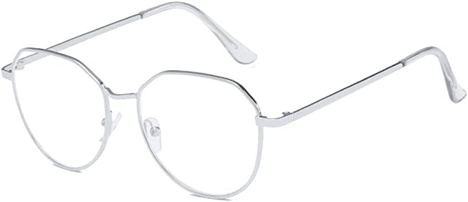 Antideslumbrante filtro UV cuadrado de metal ligero para juegos de computadora anteojos para mujeres hombres nuevos lentes de bloqueo de luz azul, Plateado: Amazon.com.mx: Hogar y Cocina