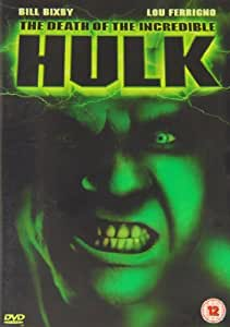 The Death of the Incredible Hulk: The Movie [Reino Unido] [DVD]