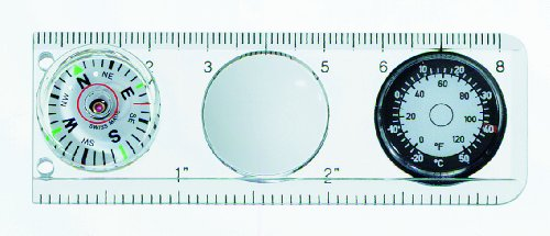 (Victorinox Compass/Ruler, Magnifying Glass, Thermometer)