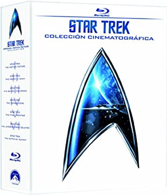 Pack Star Trek (Pelicula 1-6) [Blu-ray]: Amazon.es: William Shatner, Leonard Nimoy, De Forest Kelley, Walter Koenig, George Takei, James Doohan, Robert Wise, Nicholas Meyer, Leonard Nimoy, William Shatner, David Carson, Jonathan Frakes,