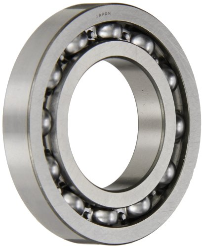 SKF 16006/C3 Radial Bearing, Single Row, Deep Groove Design, ABEC 1 Precision, Open, C3 Clearance, Steel Cage, 30mm Bore, 55mm OD, 9mm Width