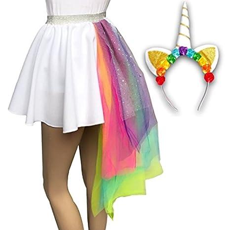 Inspired Costumes Las niñas, niño unicornio disfraz de falda ...