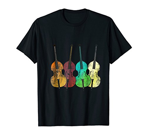 Retro Upright Bass Shirt - Classical Music Shirt