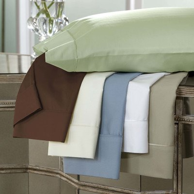 DreamFit 3-Degree 300 Thread Count Select World Class Cotton Sheet Set, Queen, Soft Linen
