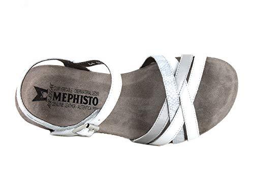 Mephisto Mephisto Blanc Sandales Sandales Mado Mado Hv4qffC