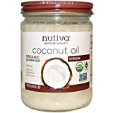 Best Coconut Oil In Glass Jars - Nutiva Coconut Oil, 14 Ounce Review