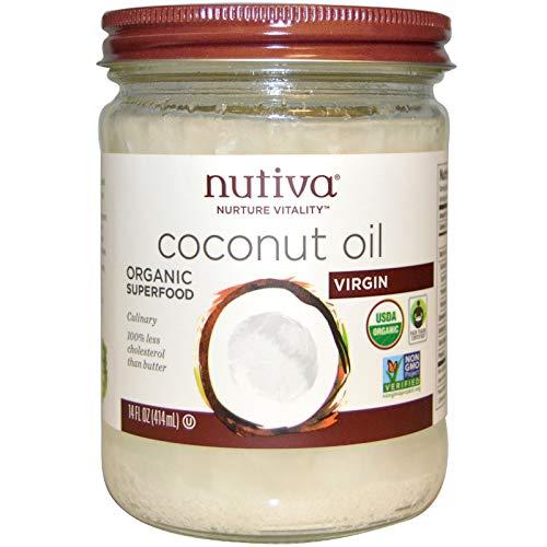 Oil 14 Ounce Jar - Nutiva Coconut Oil, 14 Ounce