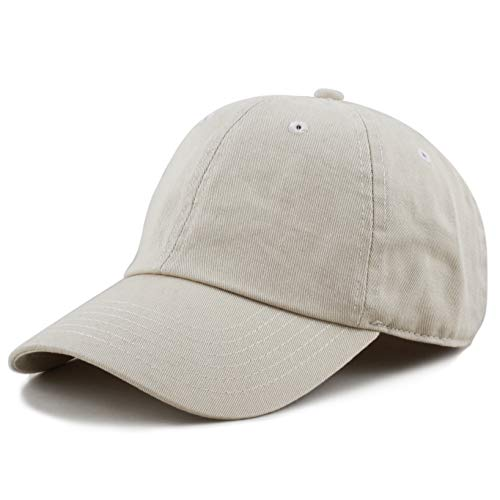 fb1eae7b974475 SHOPUS | The Hat Depot 300N Washed Cotton Low Profile Baseball Cap ...