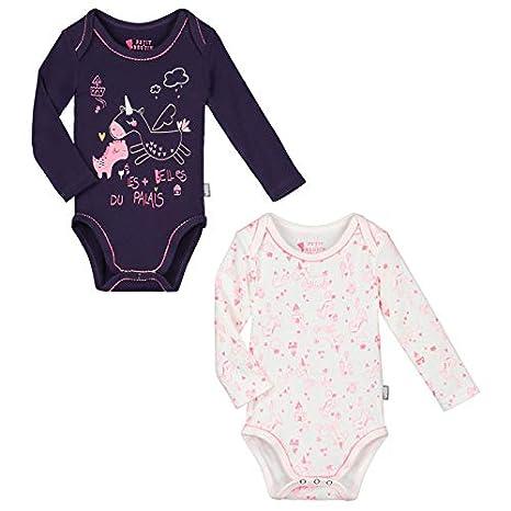 Lot de 2 bodies manches longues bébé fille Lili - Taille - 6 mois ... 12ffadae7a8