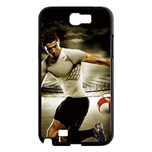 Samsung Galaxy Note 2 N7100 Designed Phone Case Real Madrid Left Wing Portugal Cristiano Ronaldo AQ057389