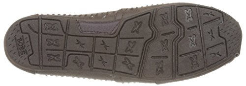 Sacudidas De Luxe Skechers Moda Resbalón-en Flat Chocolate