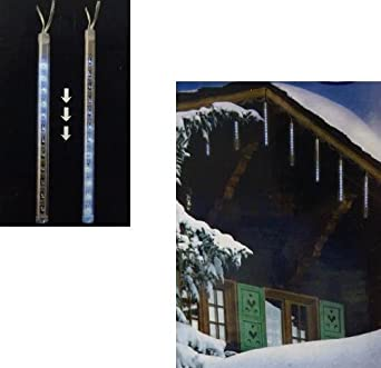 Weihnachtsbeleuchtung Eiszapfen Lauflicht.Mq Led Lichterkette Lauflicht Effekt Weihnachtsbeleuchtung Eiszapfen