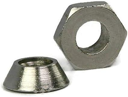 Break Away Nuts Tamper Proof Security Shear Nuts Zamak 5 Zinc #10-24 QTY 10