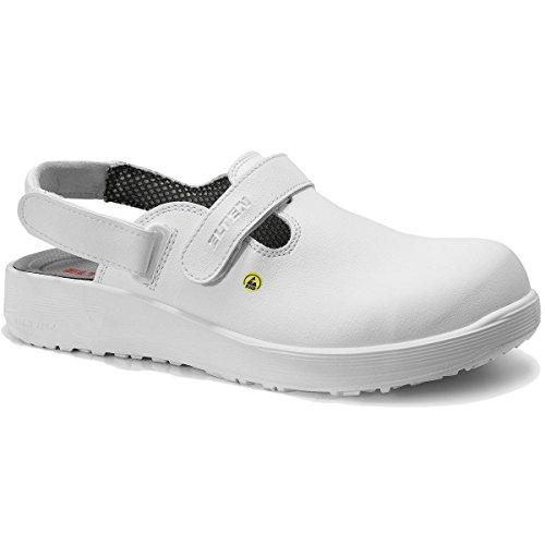 Elten Clogs mit ESD, Farbe:weiss;Schuhgröße:47 (UK 12)
