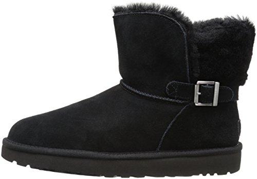 Inverno W Karel Pelo 2018 Nero Black Donna Fibbia Stivaletto Ugg Noir 1019639w Pelle vqO5wdq