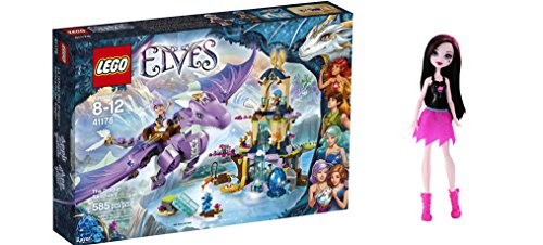 [LEGO Elves The Dragon Sanctuary 585 Pcs & free Gifts Ghoul Spirit Draculaura Doll (Colors may vary)] (Baby State Trooper Costume)