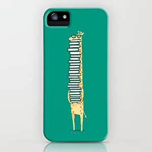 Giraffe Love Reading sHard Back Cover Fit For Iphone 5C