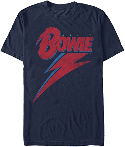 David Bowie - Lightning Bolt - Adult T-Shirt - Medium