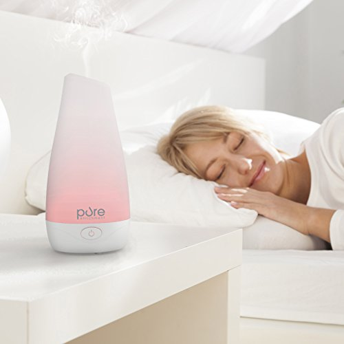 PureSpa-Essential-Oil-Diffuser–Compact-Ultrasonic-Aromatherapy-Diffuser-With-Ionizer-Optional-Color-Changing-Light-and-Up-to-7-Hours-Continuous-Operation