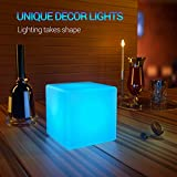 LOFTEK LED Light Cube: 4-inch RGB 16 Colors Cool