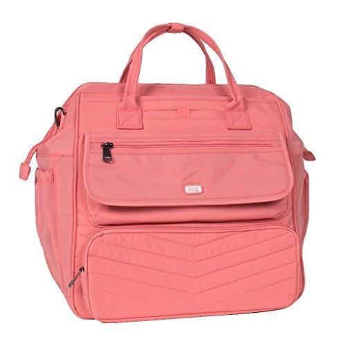 Lug Women's via Convertible Travel Duffel Bag Blush Pink One Size [並行輸入品] B07F2CZ12Z