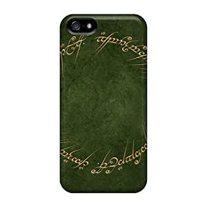 Bumper Hard Cell-phone Cases For Iphone 5/5s (gex14813CXox) Customized HD Lord Of The Rings Skin