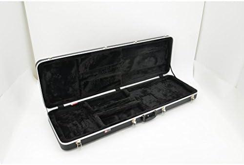Estuche Crossrock CRA401CBK de plástico ABS resistente para guitarra clásica, con correas de mochila, en cuadros de color blanco y negro: Amazon.es: Instrumentos musicales