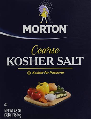 Morton Salt Kosher Salt, 3 lb, 2 pk (Salt Kosher)