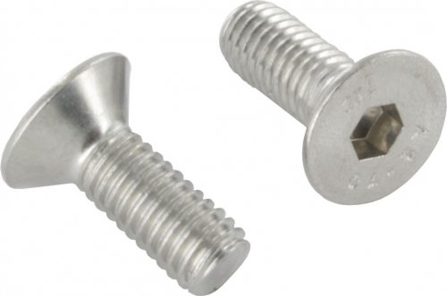 V4A Senkkopfschraube mit Innensechskant, M6 x 14mm, ISO 10642, 10er Pack edelstahlonline24