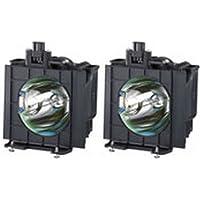 Panasonic PT-D5600U DLP Multimedia Video Projector OEM Compatible 2 Bulbs