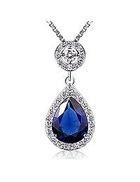 B.Catcher Crystals Heart of Ocean Love Necklaces & Pendants Jewelry 18+2inch